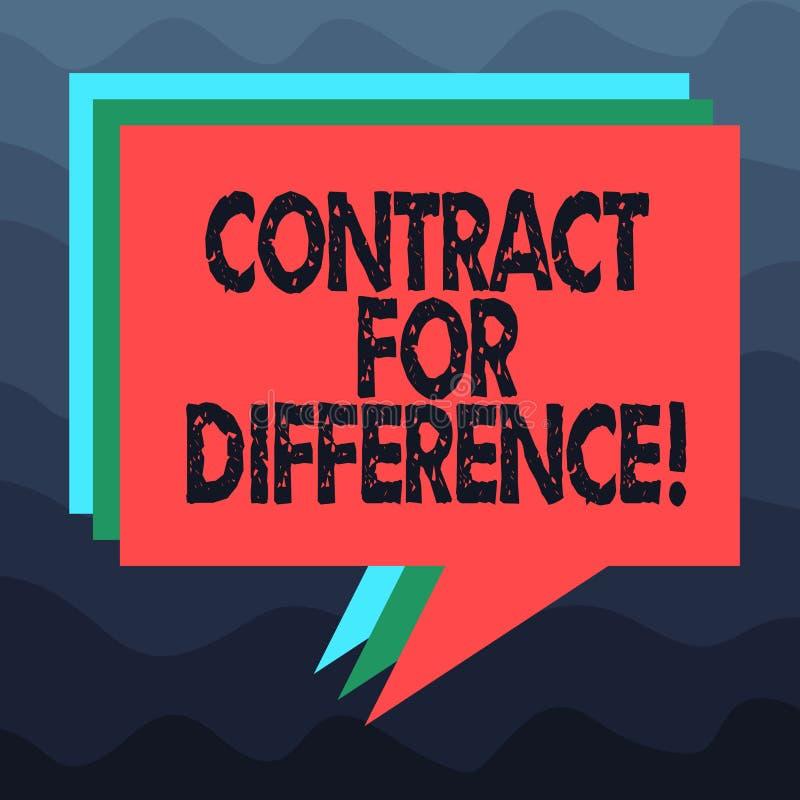 Schreiben von Anmerkungsvertretung Vertrag für Unterschied Präsentationsvertrag des Geschäftsfotos zwischen einem Investor und ei lizenzfreie abbildung