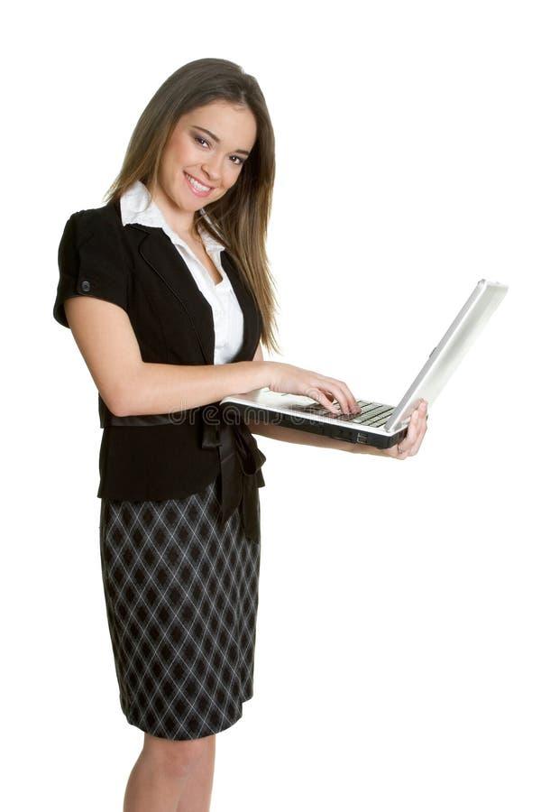 Schreibenfrau stockbilder
