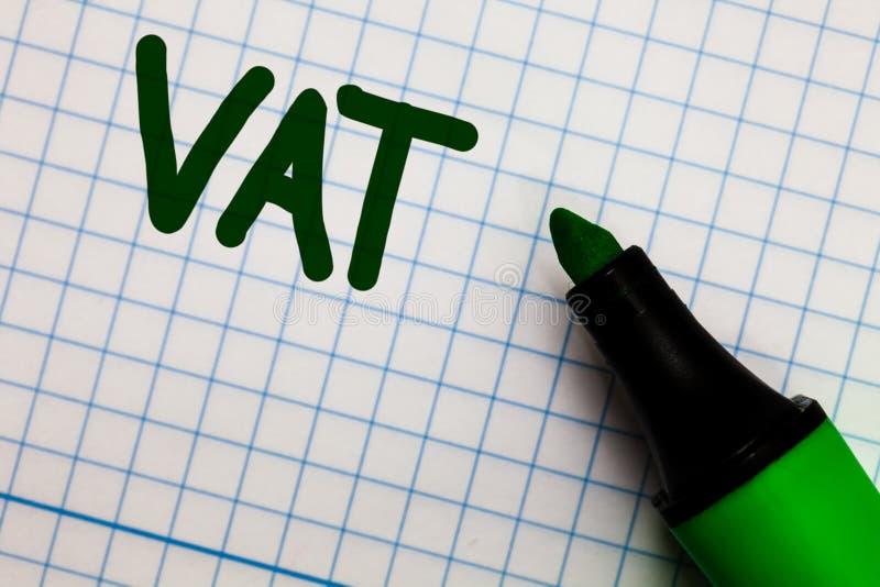 Schreibensanmerkung, die Bottich zeigt Geschäftsfoto Präsentationsverbrauchssteuer erhob im Verkauf Tausch für Eigenschaften und  lizenzfreies stockfoto