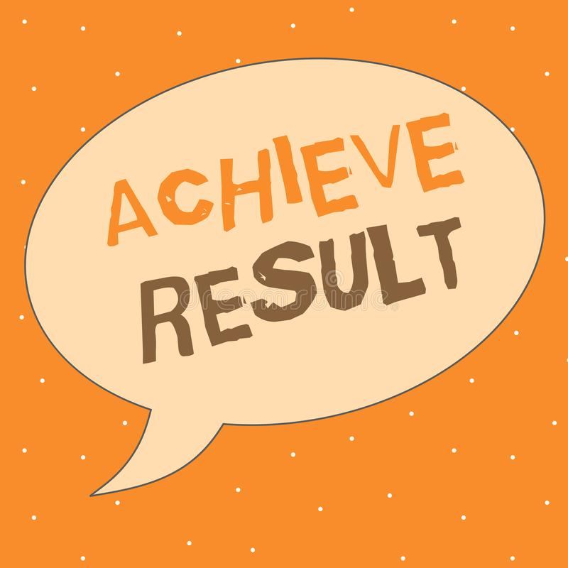 Schreibensanmerkungsvertretung erzielen Ergebnis Geschäftsfoto Präsentationsdurchführung erreichen holen zu einem erfolgeichen Ab stock abbildung