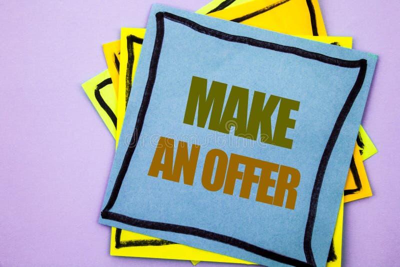 Schreibenstextvertretung machen ein Angebot Geschäftsfoto Präsentationsregelungs-Verhandlung mit Vertreter Agency Over Home gesch stockbilder