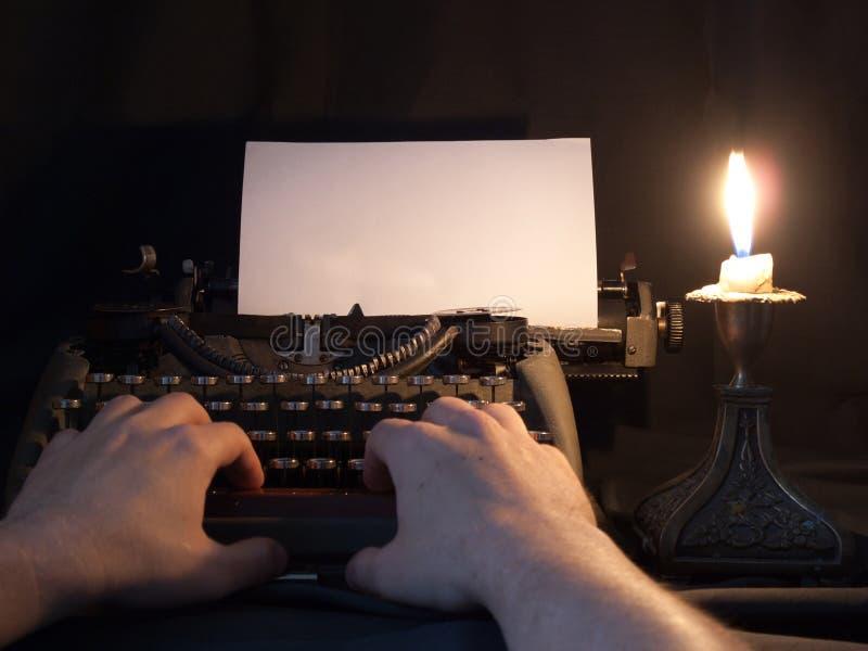 Schreibmaschine t stockfotografie