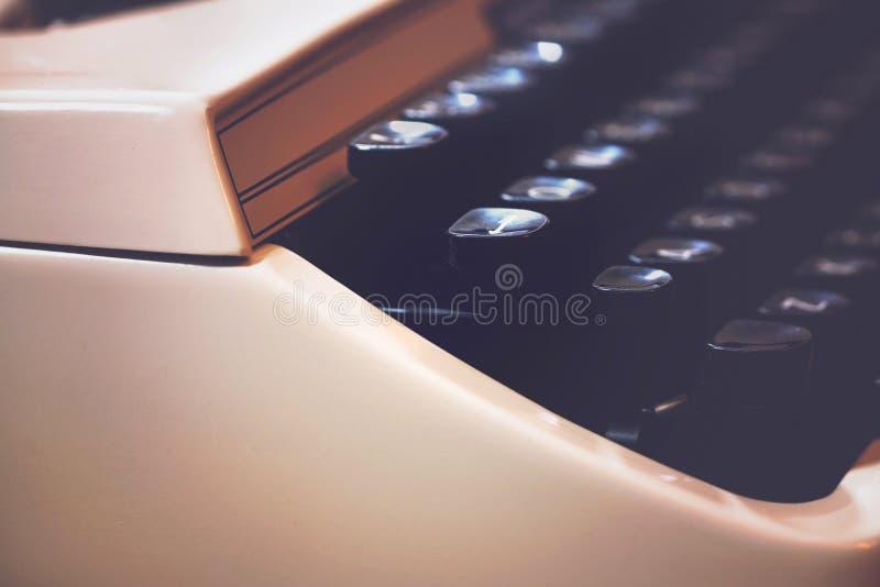 Schreibmaschinenmakroabschluß oben lizenzfreie stockfotos