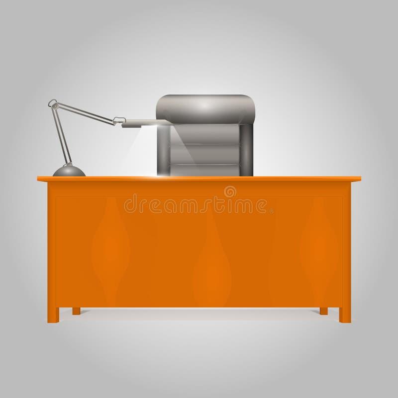 Schreibtisch-Direktor vektor abbildung