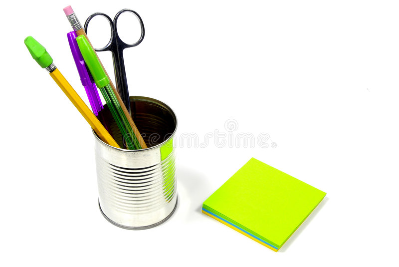 Schreibtisch-Felder Lizenzfreie Stockfotos
