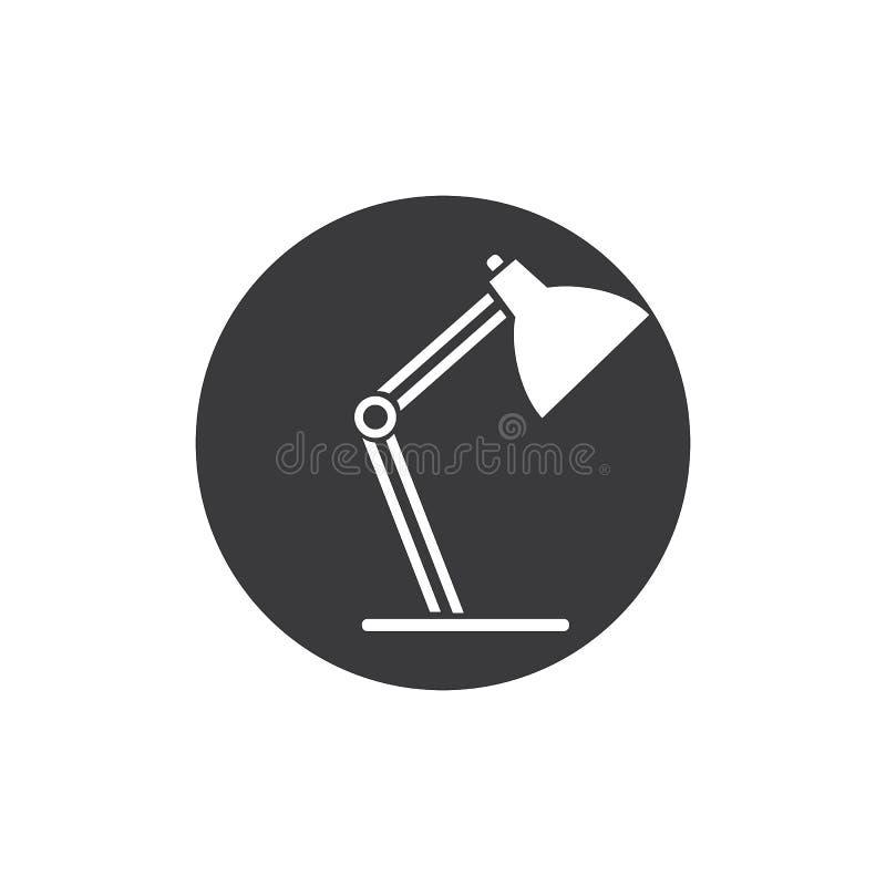 Schreibtisch Lamp vektor abbildung