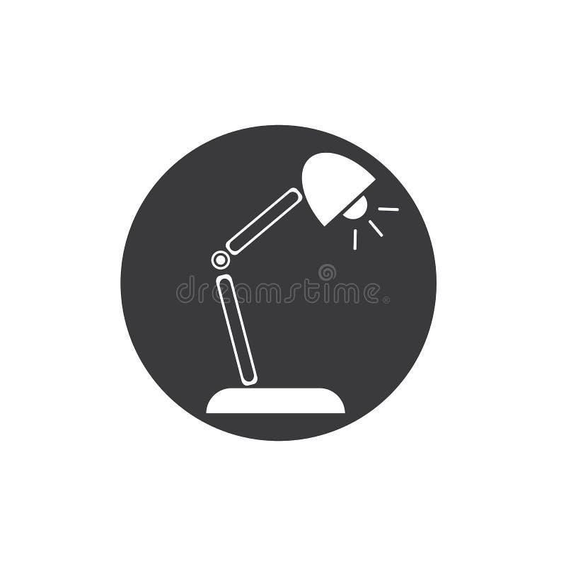 Schreibtisch Lamp lizenzfreie abbildung