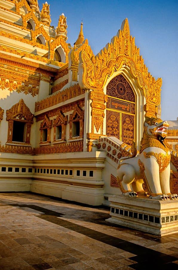 Schrein Birma (Myanmar) stockfotografie