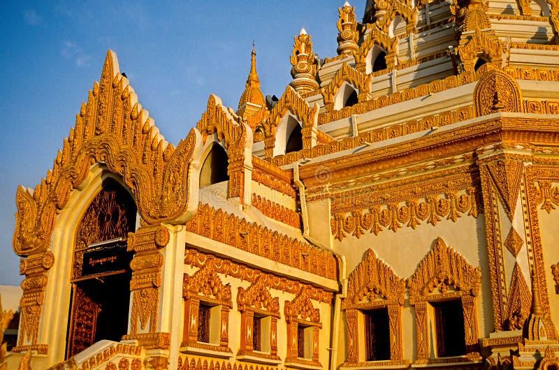 Schrein Birma (Myanmar) stockbilder