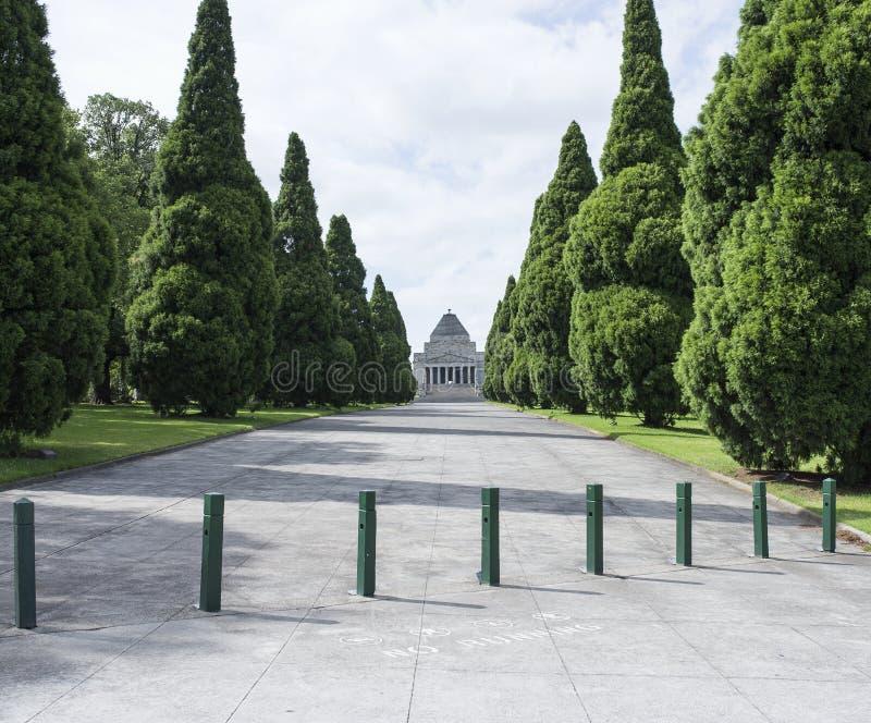 Schrein der Erinnerung, Melbourne, Australien stockfotos