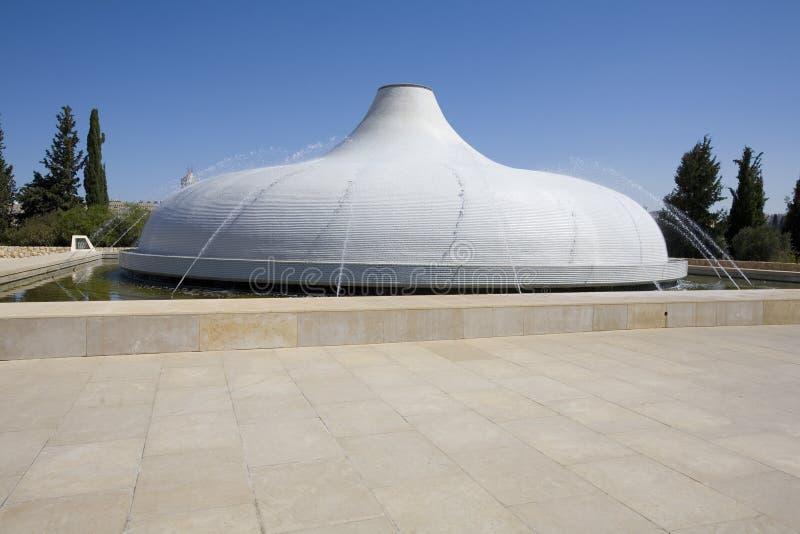 Schrein des Buches, Israel-Museum stockbild
