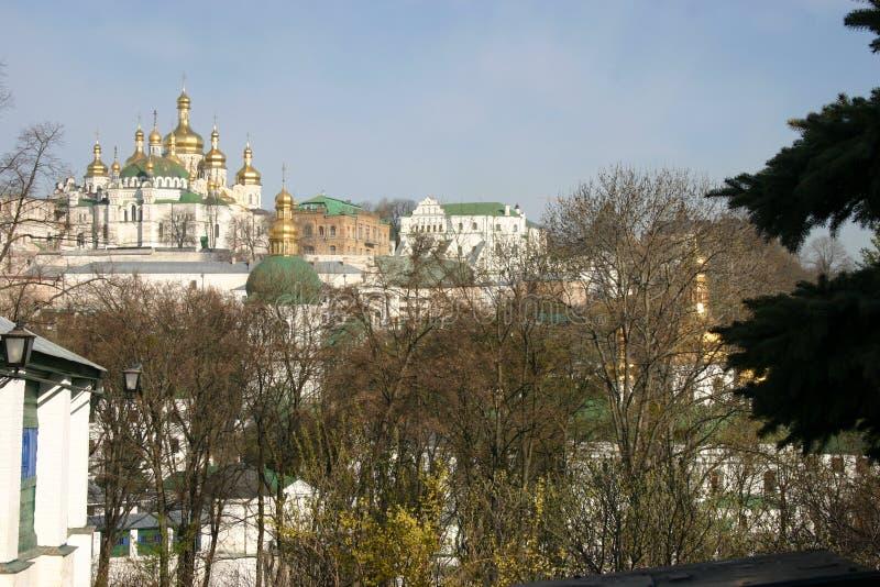 Schreine von altem Kiew stockfoto