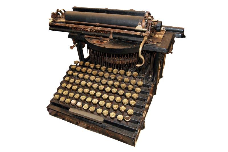 Schrijfmachine 2 royalty-vrije stock foto