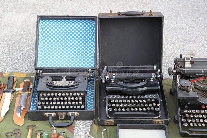 schrijfmachines royalty-vrije stock foto's
