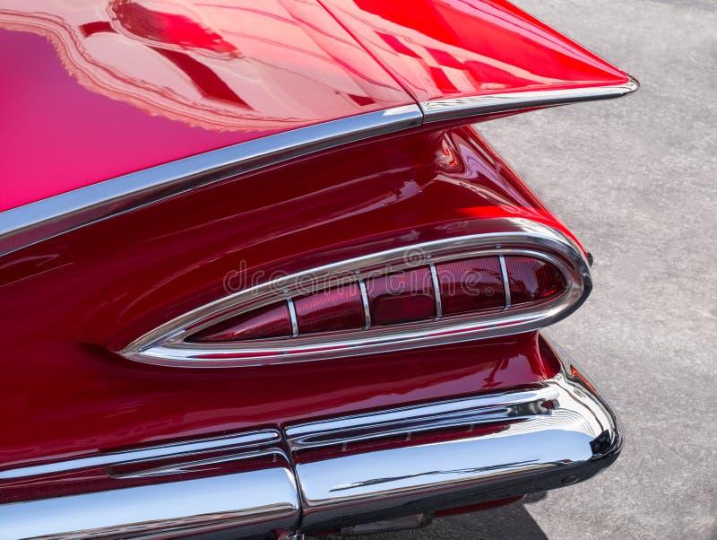 Schrijver uit de klassieke oudheid 1959 Chevy royalty-vrije stock afbeelding