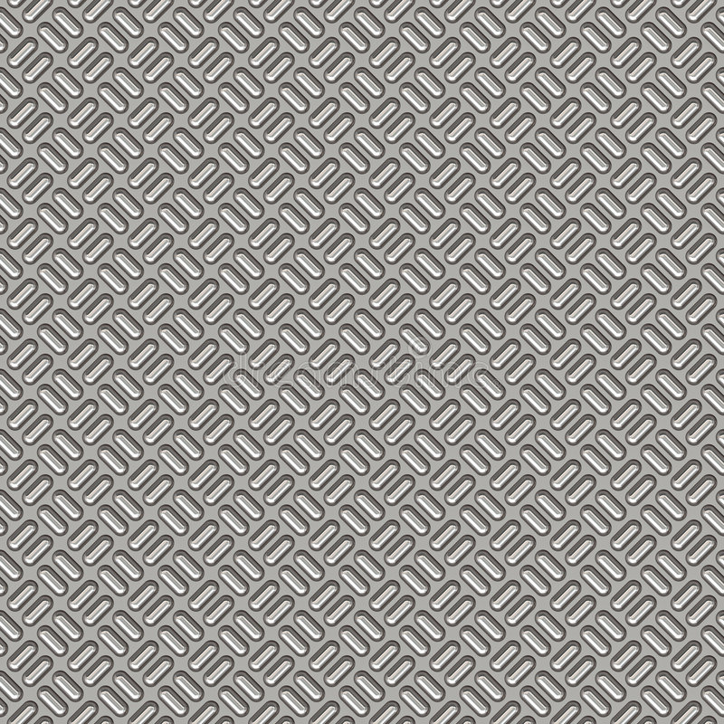 Schritplatten-Stahlhintergrund stock abbildung
