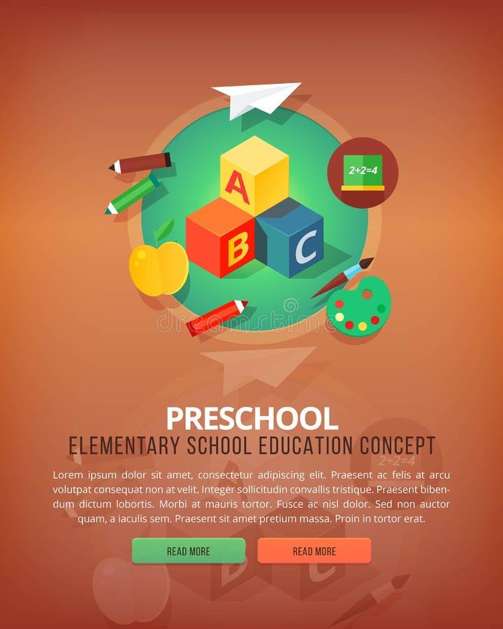 Schritte des pädagogischen Prozesses Arten von Wissensbetriebsmitteln vortraining Grundlegendes und grundlegendes Thema Ausbildun lizenzfreie abbildung