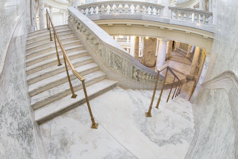 Schritte innerhalb des Boise-Kapitals lizenzfreie stockfotografie