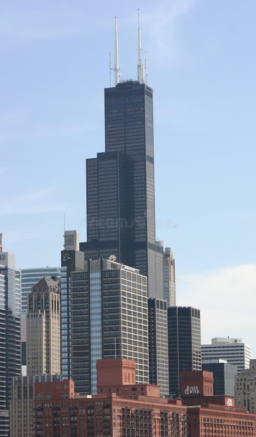 Schroeit Toren in Chicago royalty-vrije stock afbeelding