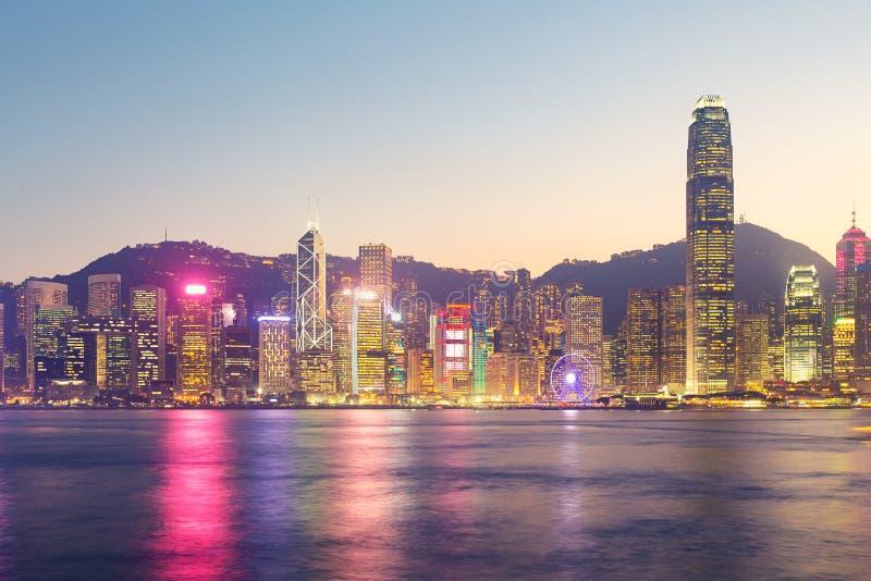 schronienia Hong kong Victoria obrazy royalty free