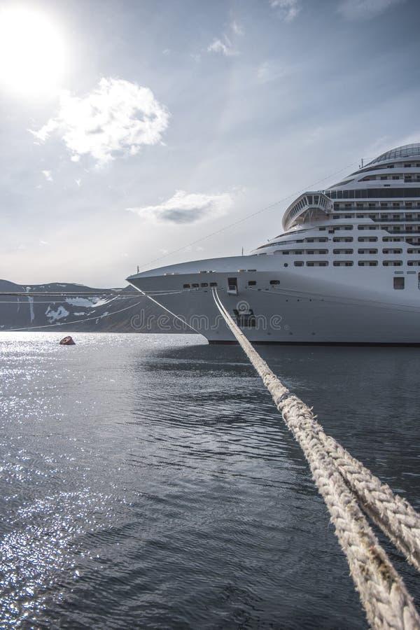 schronienia Japan pasażerskiego statku yohohama fotografia stock