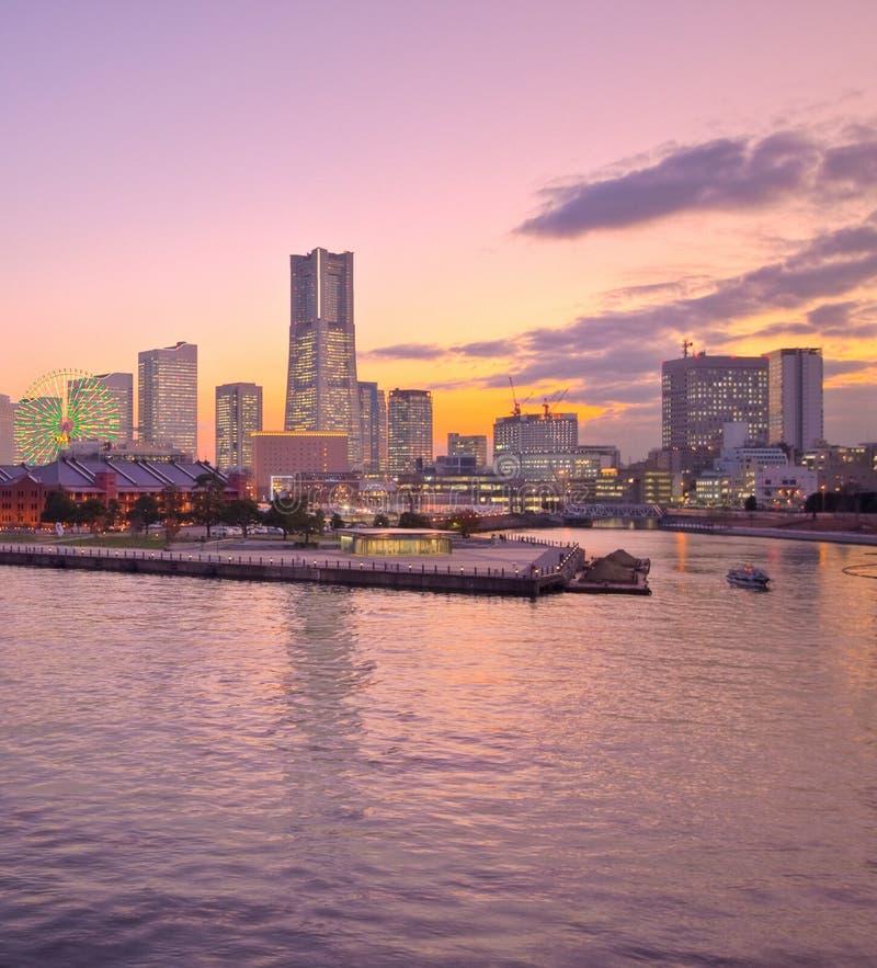 schronienia Japan statek Tokyo Yokohama fotografia stock