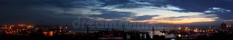 schronienia Odessa panoramy wschód słońca Ukraine obrazy royalty free