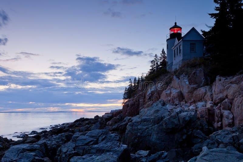 schronienie basowa latarnia morska obrazy stock
