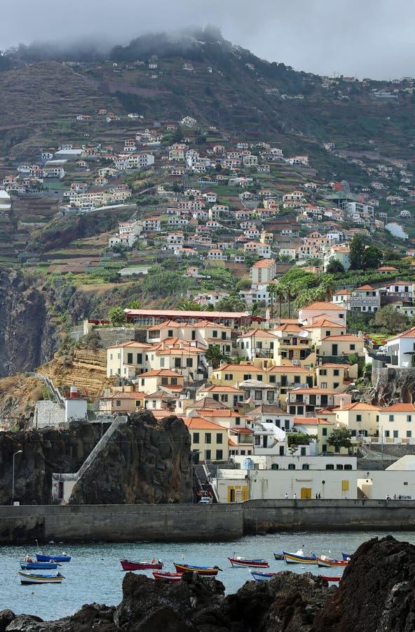 Schronienie Camara De Lobos - madera, Portugalia obrazy royalty free