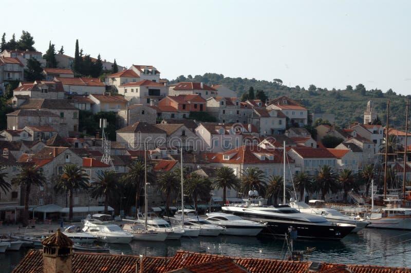 schronienie croatia zdjęcie royalty free