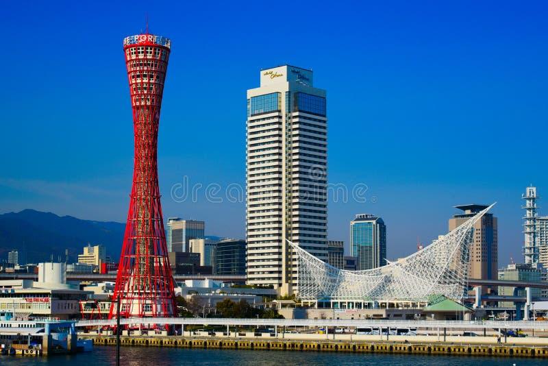 Schronienie Kobe w Hyogo Japonia obrazy stock