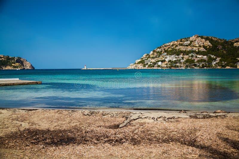 Schronienie Portowy d'Andratx, Majorca obrazy royalty free