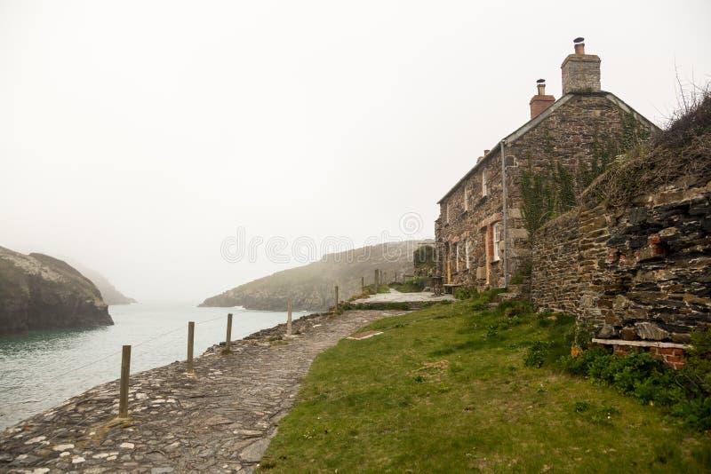 Schronienie Portowy Quin w Cornwall zdjęcie royalty free