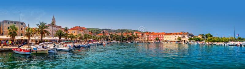 Schronienie w Supetar, Brac, Chorwacja zdjęcia royalty free