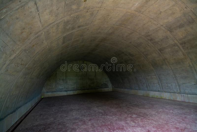 Schronu wnętrze zdjęcie stock