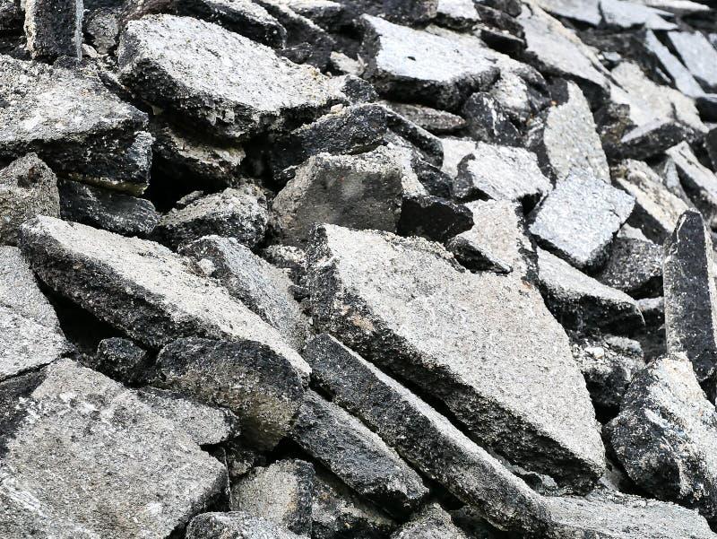 Schroot van baksteen stock foto