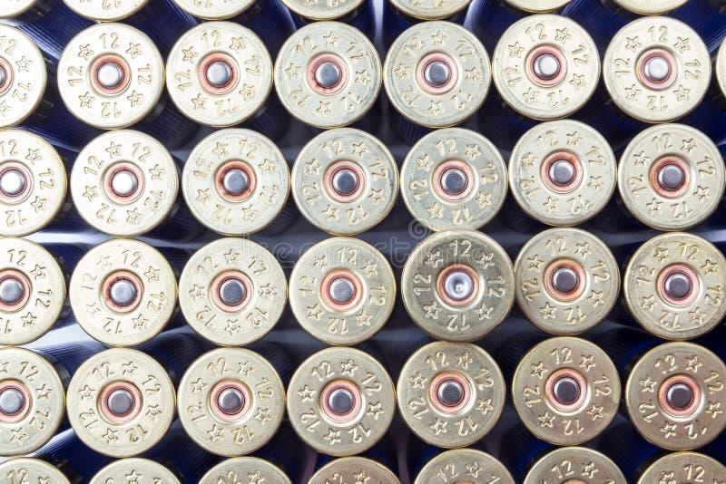 Schrotflintenmunition lizenzfreies stockbild