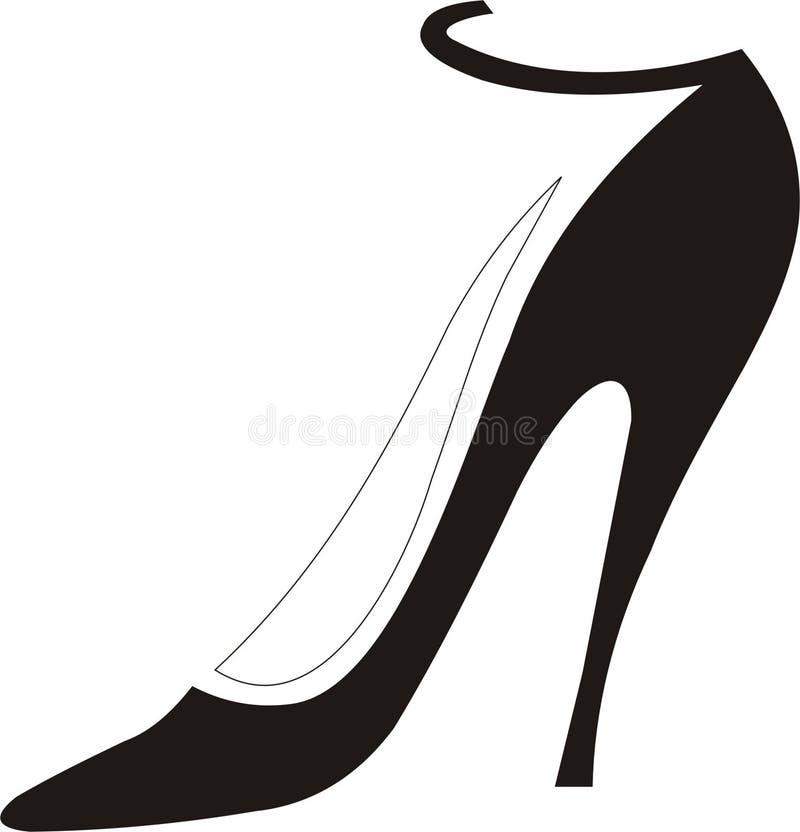 Schuh lizenzfreie abbildung