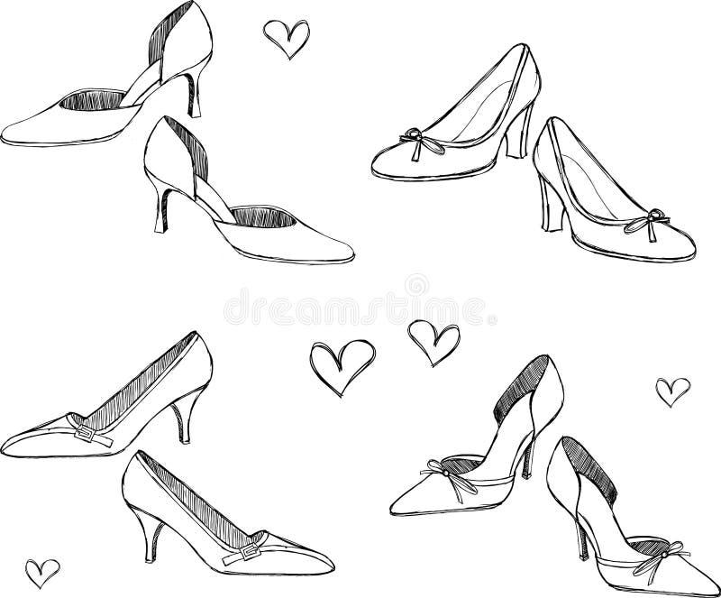 Schuh-Abbildung lizenzfreie abbildung