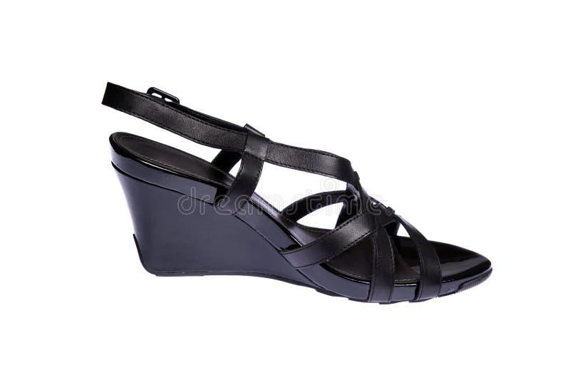 Download Schuh der Frauen stockbild. Bild von getrennt, glänzend - 12200735