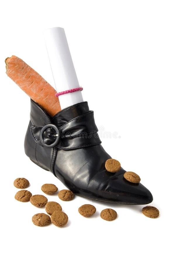 Schuh für einen holländischen Feiertag stockfotos