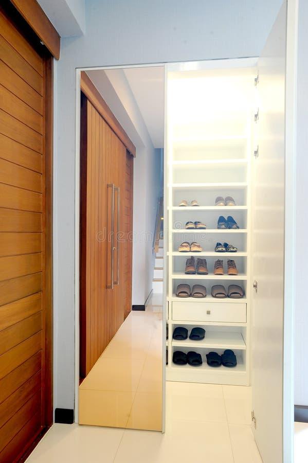 Schuh-Schließfach stockfotos