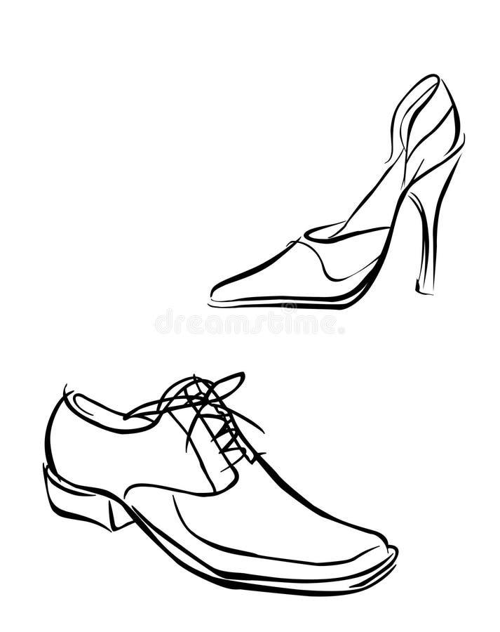 Schuhe vektor abbildung