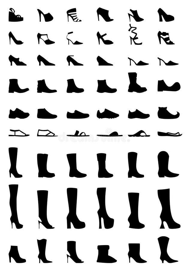 Schuhe und Matten