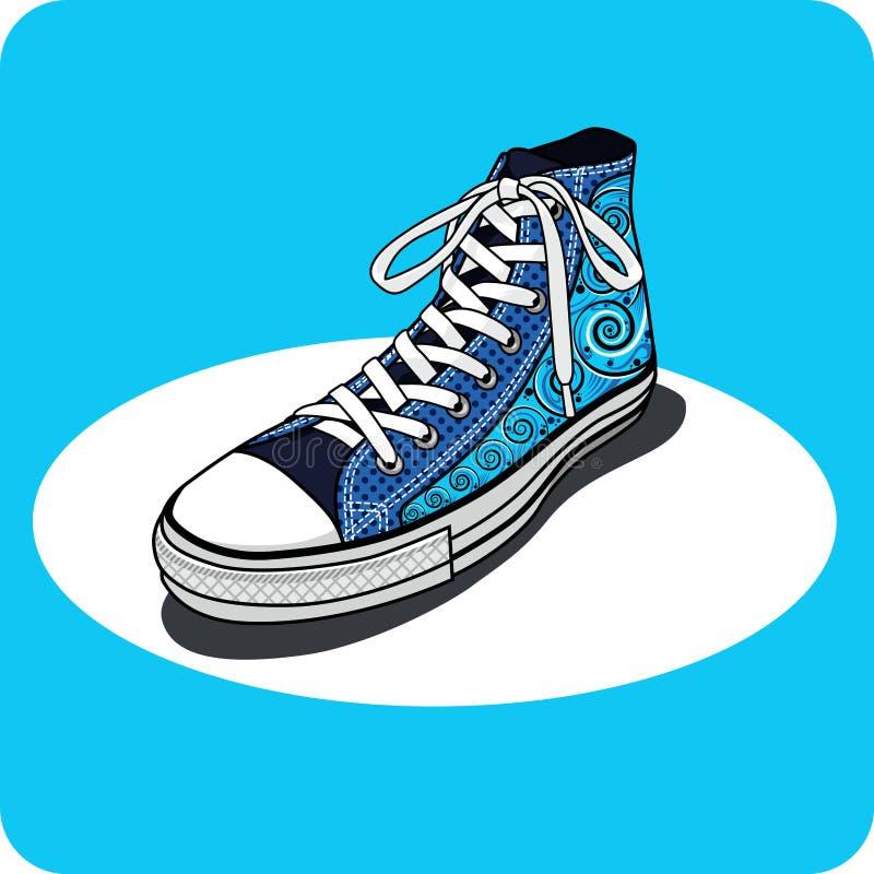 Schuhe unterhalten sich All Star vektor abbildung