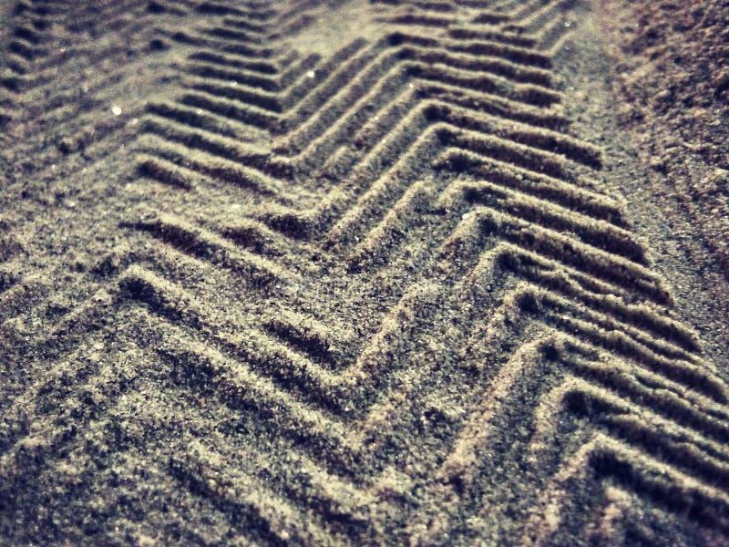 Schuhkarte auf Wüste stockbilder