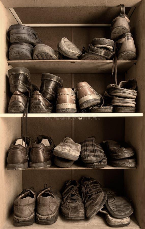 Schuhkasten lizenzfreie stockfotos