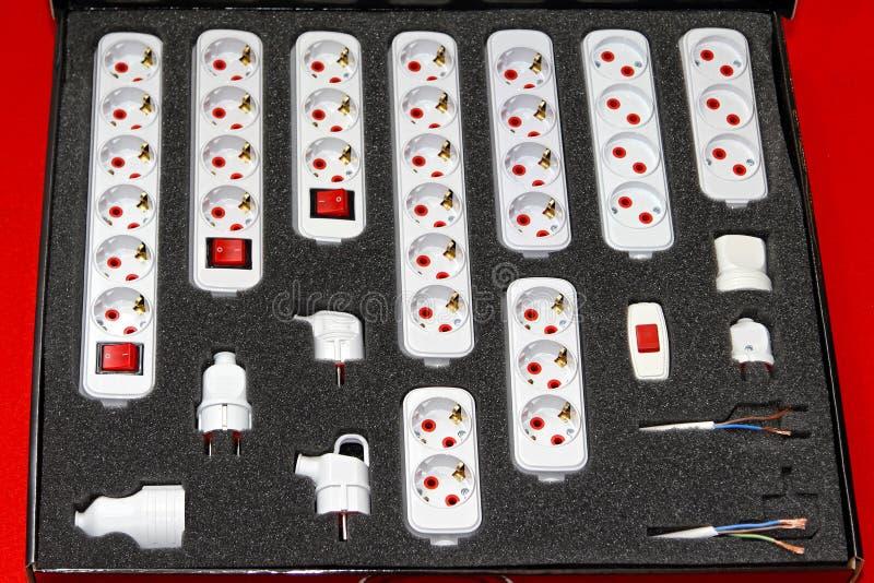 Download Schuko plugs sockets stock image. Image of safety, plug - 26382951