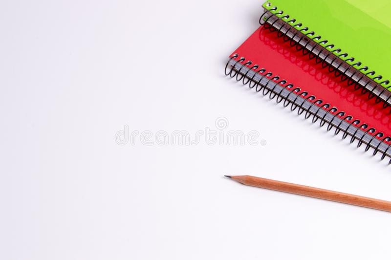 Schul- und Büromaterial lizenzfreies stockfoto