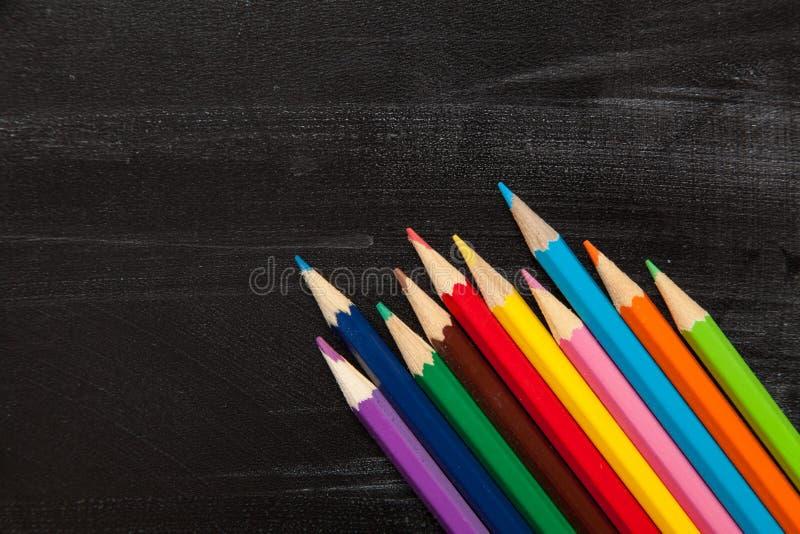 Schul- und Bürozusätze stockbild
